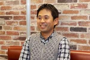 日比谷花壇ライフサポート事業部 副部長の金澤和央さん